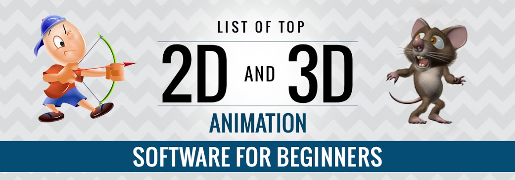 List of Top 2d and 3d Animation Software for Beginners
